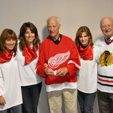 Sending Love to Our Hero, Gordie Howe!