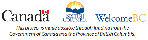 This project is made possible through funding from the Government of Canada and the Province of British Columbia